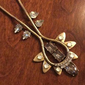 Stella & Dot Soliel pendant necklace